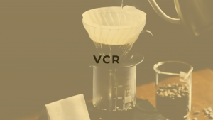 VCR specialty coffee beans