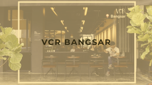Cafe at Bangsar that serves specialty coffee