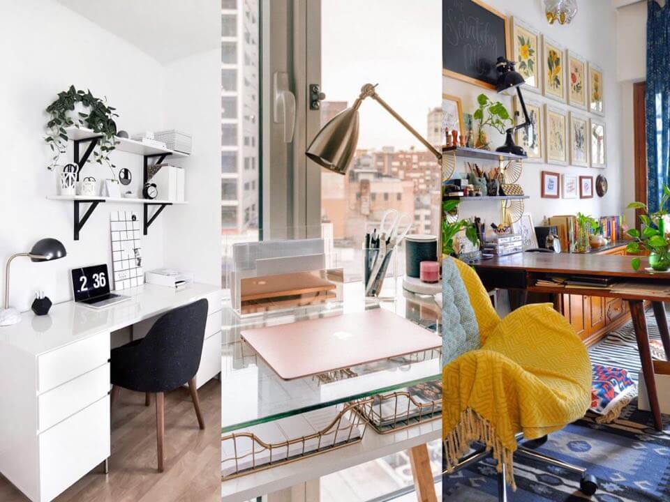 Ideas to organize and decorate your desk to boost productivity