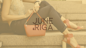 lambskin bags and leather shoes by June and Riga