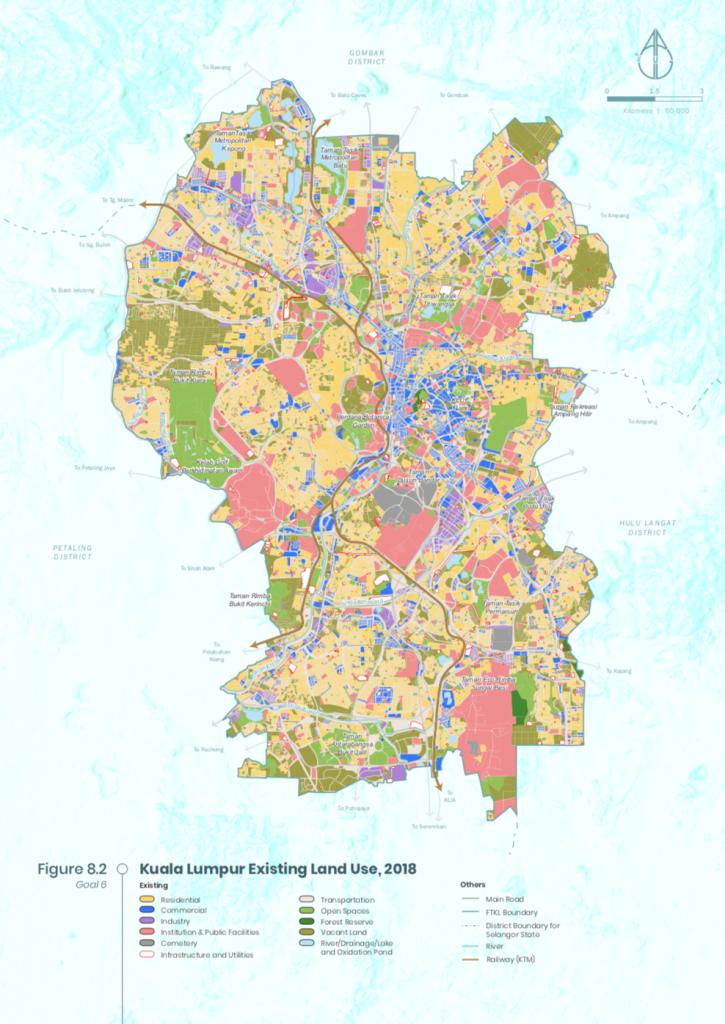 Land use Kuala Lumpur