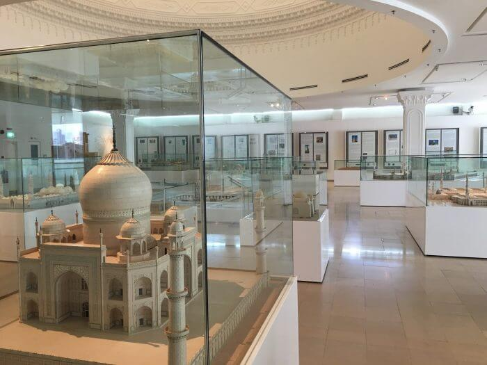 Exhibits in Islamic Arts Museum Malaysia